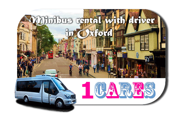 Hire a van with driver in Oxford