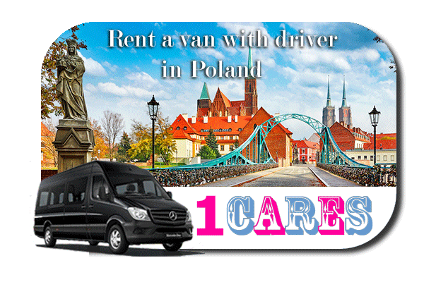 Rent a van with driver in Poland