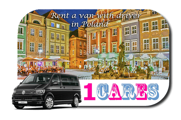 Hire a van with driver in Poland