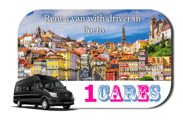 Rent a van with driver in Porto