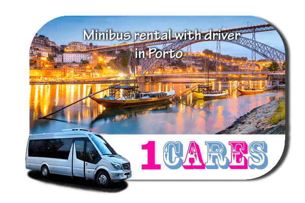Minibus rental with driver in Porto