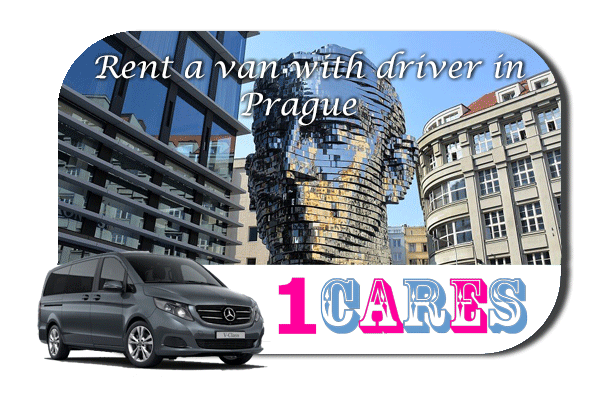 Hire a van with driver in Prague