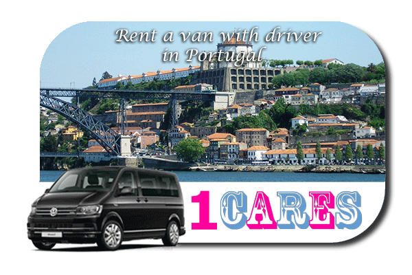Hire a van with driver in Portugal