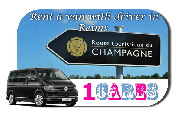 Rent a van with driver in Reims