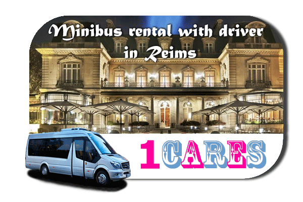 Hire a van with driver in Reims