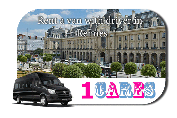 Rent a van with driver in Rennes