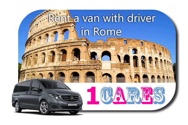 Hire a van with driver in Rome