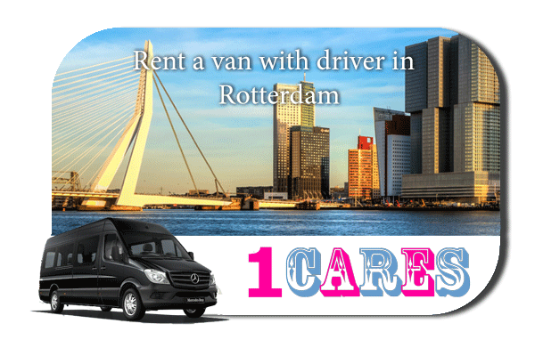 Rent a van with driver in Rotterdam