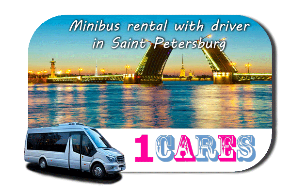 Rent a van with driver in Saint Petersburg