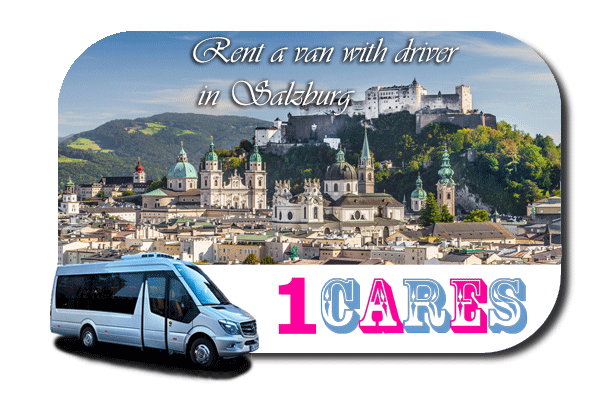 Rent a van with driver in Salzburg