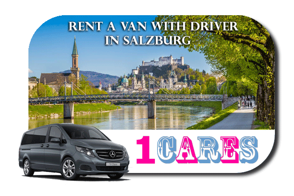 Hire a van with driver in Salzburg