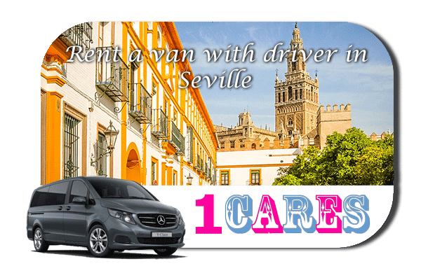 Rent a van with driver in Seville