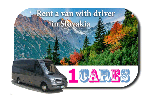 Rent a van with driver in Slovakia
