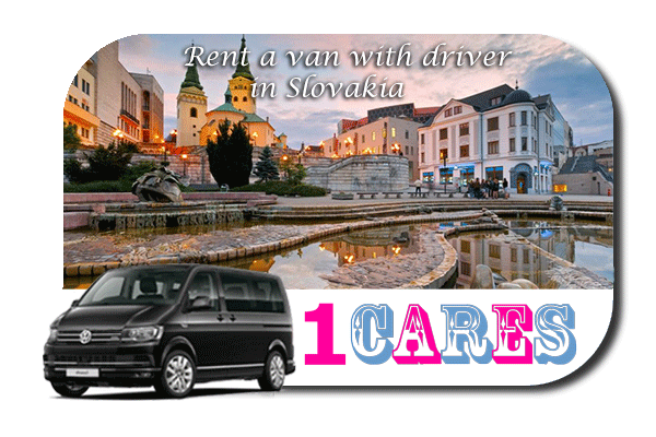 Hire a van with driver in Slovakia
