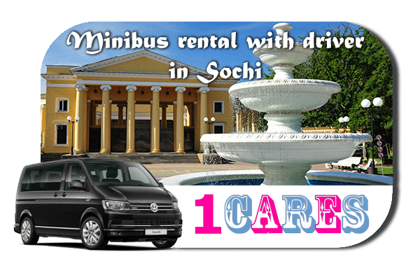 Rent a van with driver in Sochi