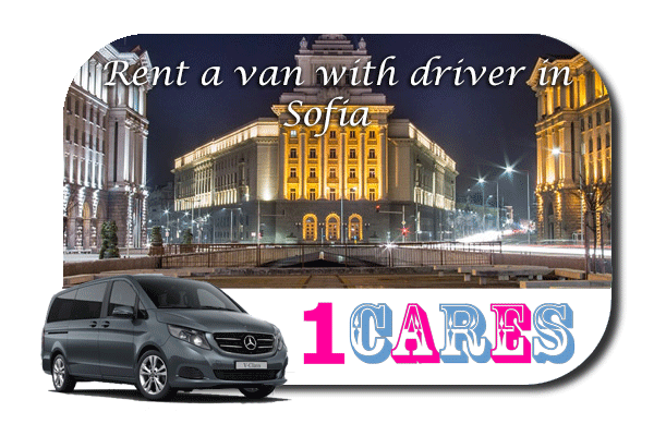 Hire a van with driver in Sofia