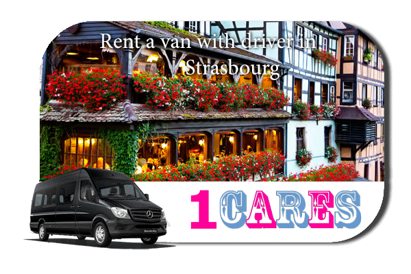 Rent a van with driver in Strasbourg