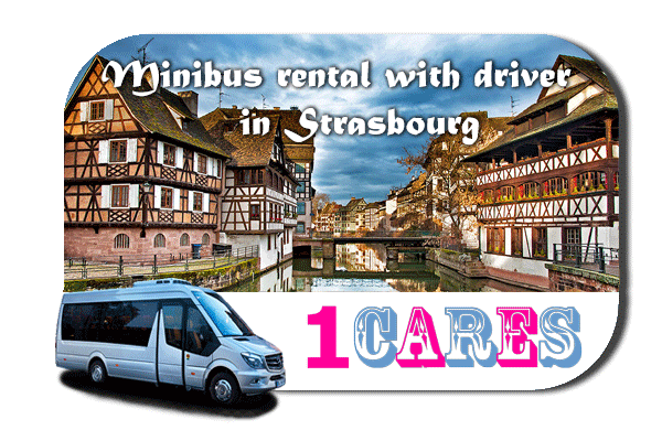 Hire a van with driver in Strasbourg