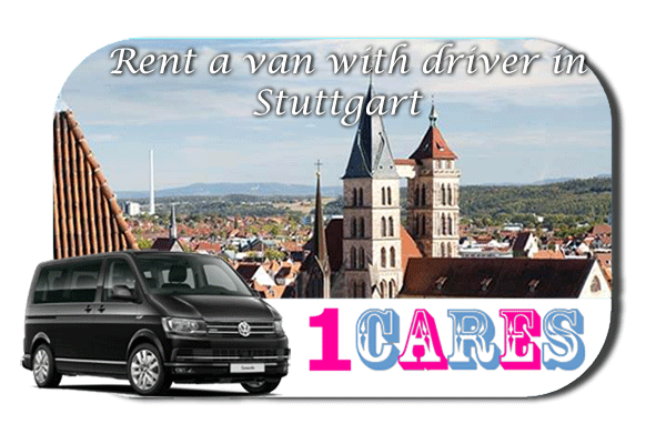 Hire a van with driver in Stuttgart