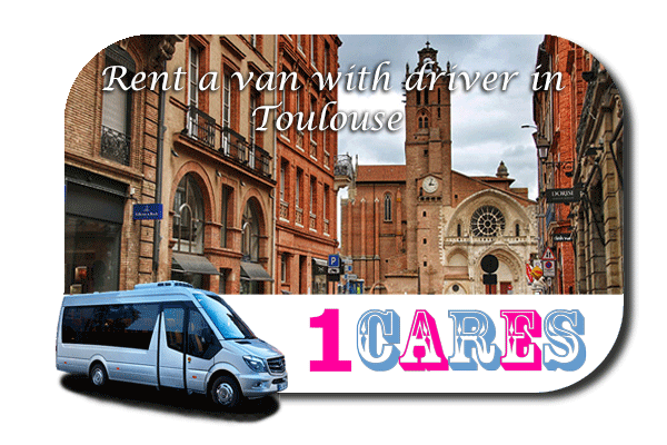 Rent a van with driver in Toulouse