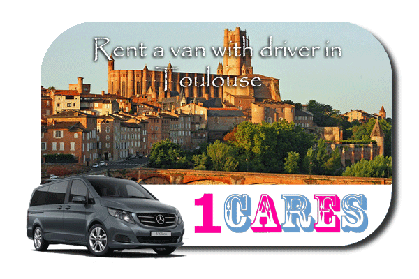 Hire a van with driver in Toulouse