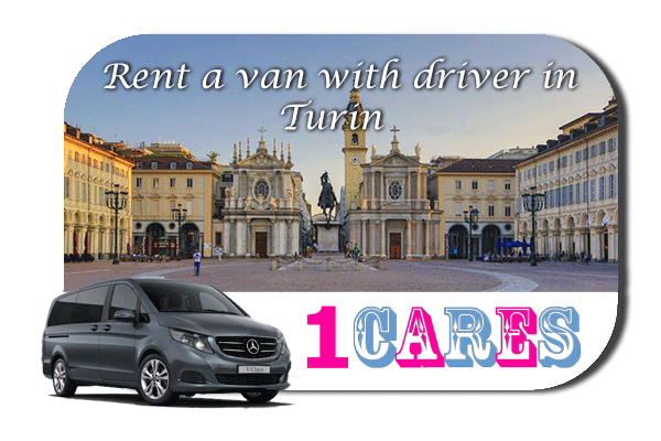 Rent a van with driver in Turin