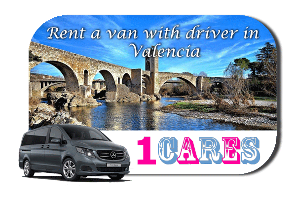 Hire a van with driver in Valencia
