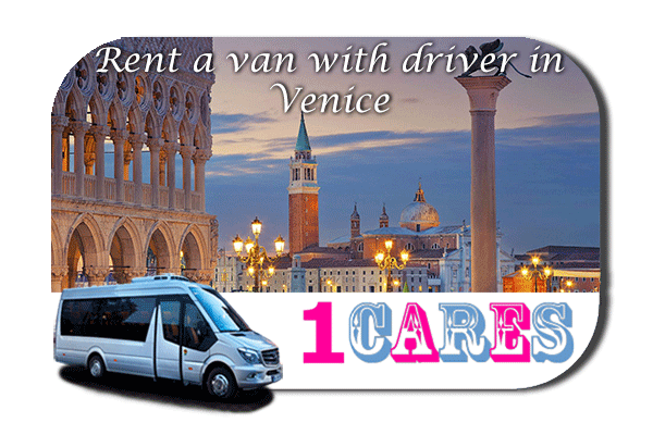 Hire a van with driver in Venice