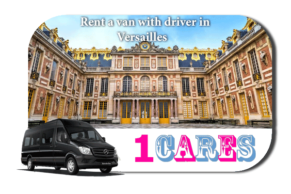 Rent a van with driver in Versailles