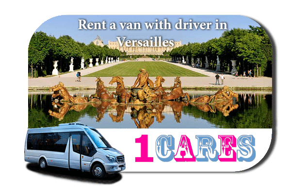 Hire a van with driver in Versailles