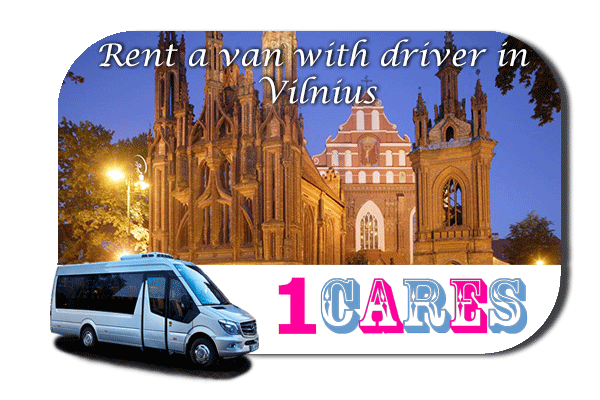Hire a van with driver in Vilnius