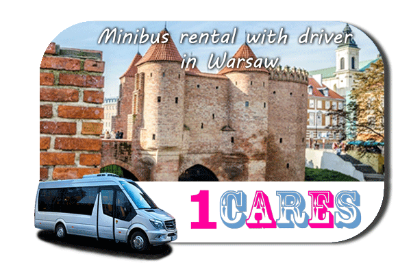 Rent a van with driver in Warsaw