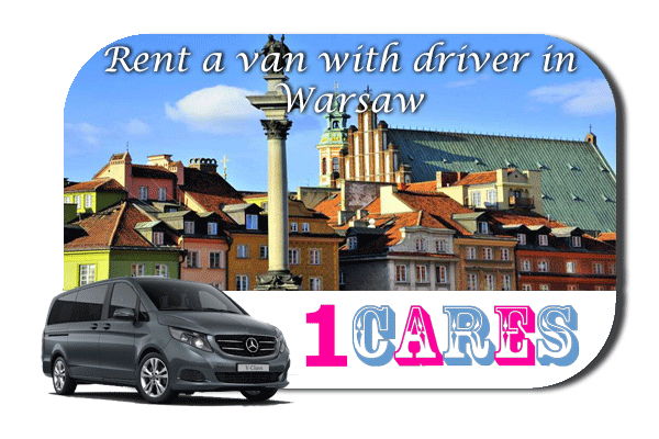 Hire a van with driver in Warsaw