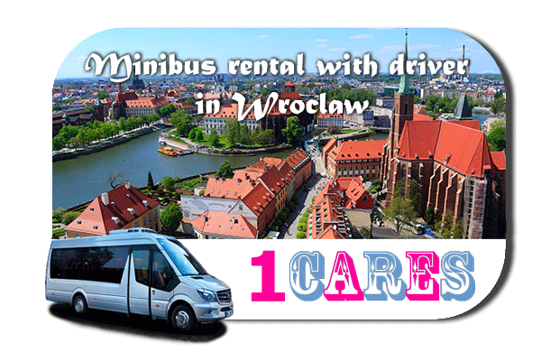 Rent a van with driver in Wroclaw
