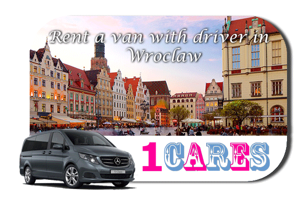 Hire a van with driver in Wroclaw