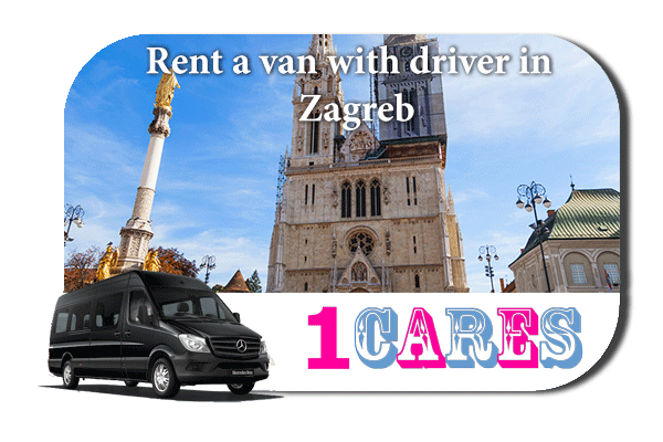 Rent a van with driver in Zagreb