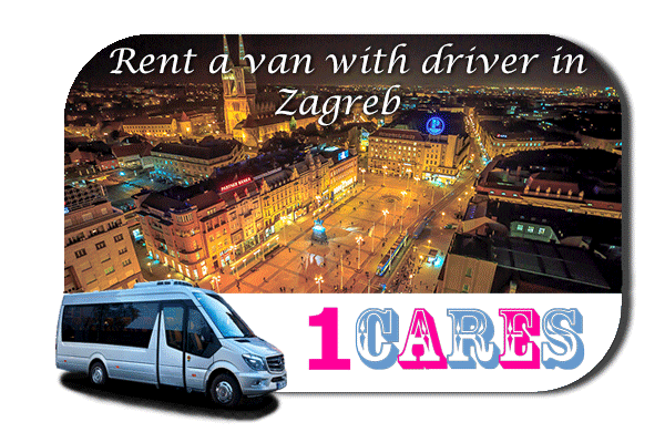 Hire a van with driver in Zagreb