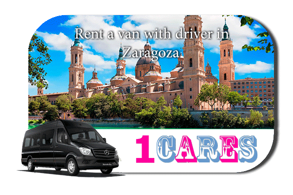 Rent a van with driver in Zaragoza