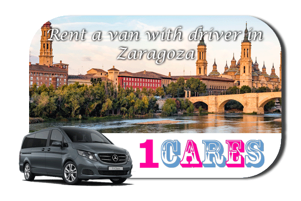 Hire a van with driver in Zaragoza
