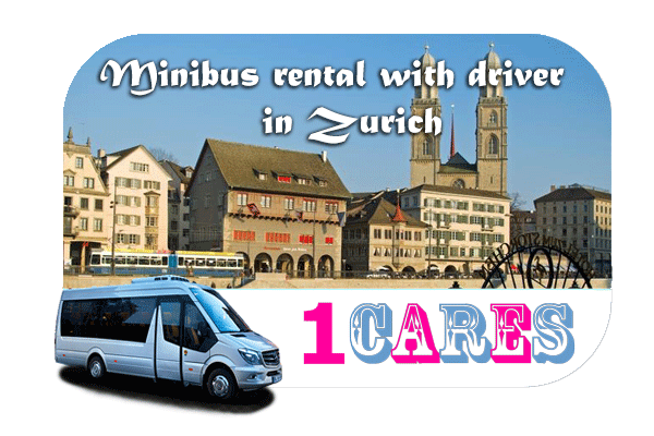 Hire a minibus with driver in Zurich
