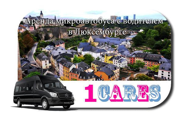 Аренда микроавтобуса с водителем в Люксембурге