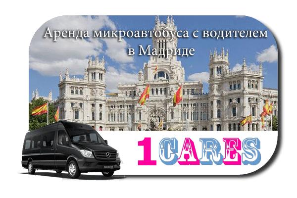 Аренда микроавтобуса с водителем в Мадриде