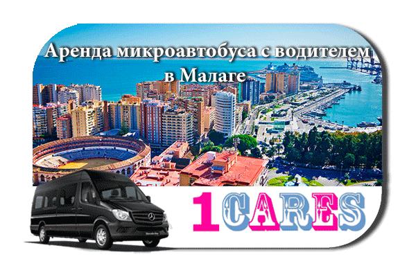 Аренда микроавтобуса с водителем в Малаге