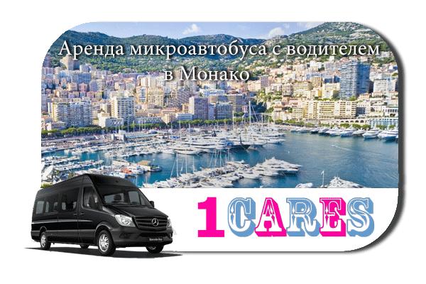 Аренда микроавтобуса с водителем в Монако