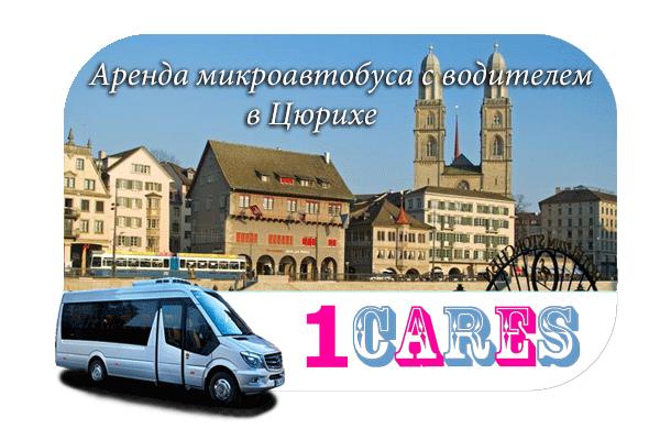 Аренда микроавтобуса с водителем в Цюрихе