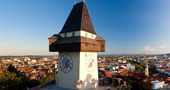 Uhrturm - the clock tower of Graz