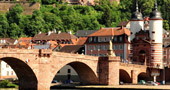 The Old Bridge (Alte Brücke) in Heidelberg