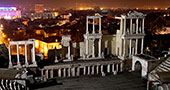 Roman city in Plovdiv