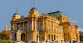 The Croatian National Theatre, Zagreb