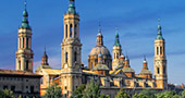 The Basilica of Our Lady of the Pilar in Zaragoza